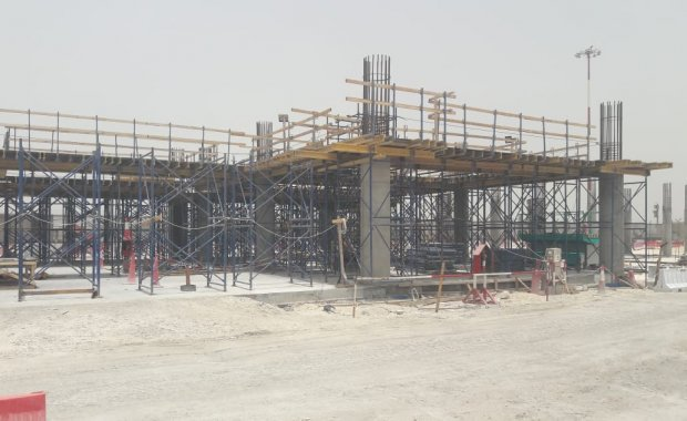"NAYAP has been awarded for ""Concrete Works of PTB Building"" in Bahrain International Airport"