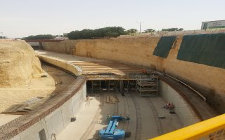 Structural Works for Cut & Cover in Line 5 in Riyadh Metro Project Package